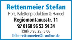 Anzeige Rettenmeier Stefan