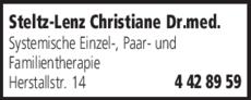 Anzeige Steltz-Lenz Christiane Dr.med.