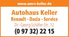 Anzeige Autohaus Keller