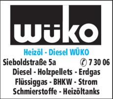 Wüko heizöl diesel wüko in würzburg in das örtliche