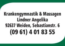 Anzeige Krankengymnastik Lindner, Lindner Angelika