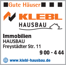 Anzeige Immobilien Klebl