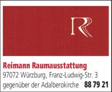 Raumausstatter Würzburg reimann raumausstattung in würzburg in das örtliche