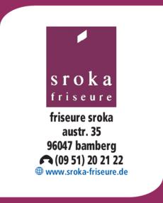 Anzeige Friseure Sroka