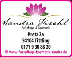 Anzeige Fischl, Sandra
