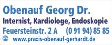 Anzeige Obenauf Georg Dr.