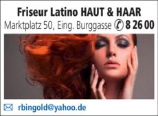 Anzeige Friseur Latino