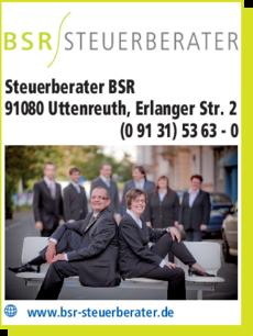 Anzeige Steuerberater BSR