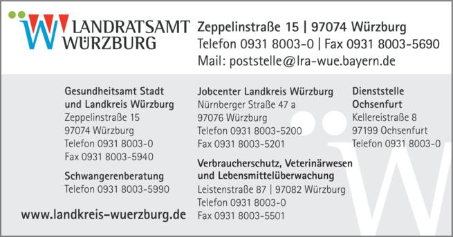 Anzeige Landratsamt Würzburg