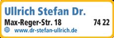 Anzeige Ullrich Stefan Dr.