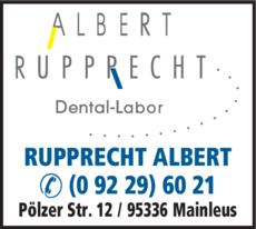 Anzeige Rupprecht Albert