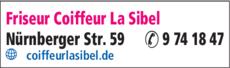 Anzeige Friseur Coiffeur La Sibel