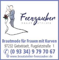 Anzeige Brautatelier Feenzauber