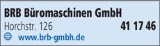 Anzeige BRB Büromaschinen GmbH