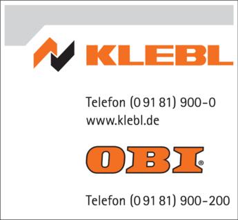 Anzeige Klebl GmbH