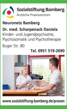 Anzeige Ärztliches Praxiszentrum am Bruderwald Neuronetz