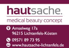 Anzeige Kosmetikinstitut hautsache