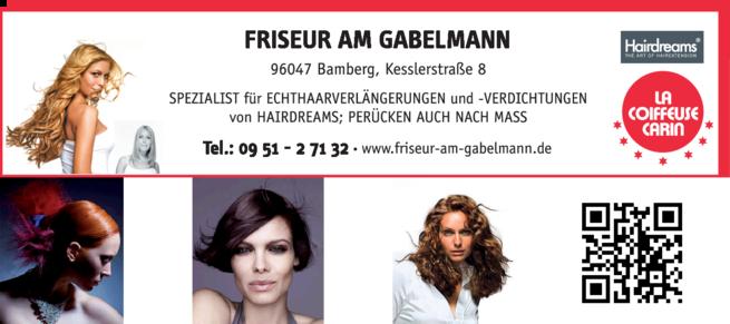 Anzeige Friseur am Gabelmann
