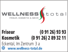 Anzeige Friseur und Wellness Total