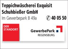 Anzeige Teppichwäscherei Exquisit Schuhbießer GmbH