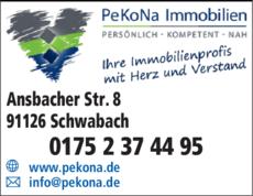 Anzeige Immobilien PeKoNa