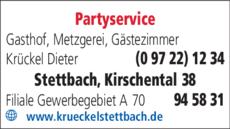 Anzeige Krückel Dieter