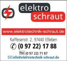 Anzeige Schraut Elektro-Installation
