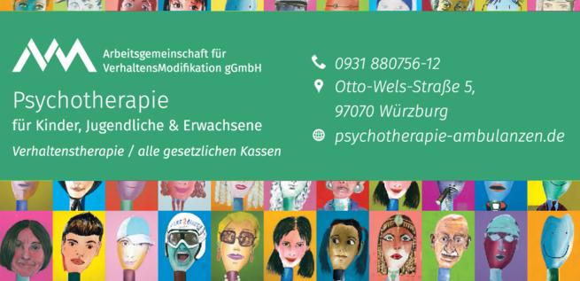 Anzeige AVM Psychotherapie