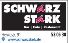 Anzeige Cafe Schwarzstark Businesscafe