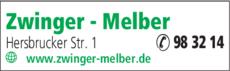 Anzeige Zwinger - Melber