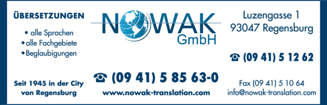 Anzeige Nowak GmbH