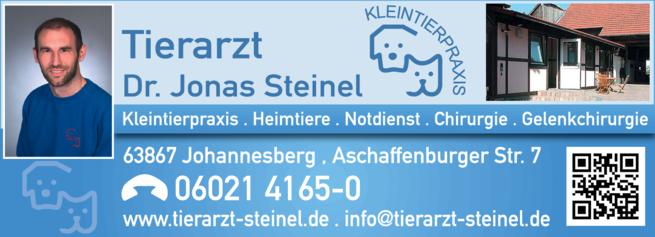Anzeige Tierarztpraxis Steinel Jonas Dr.