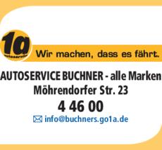 Anzeige 1a Autoservice Buchner
