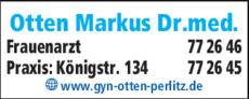 Anzeige Otten Markus Dr.med.