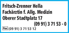 Anzeige Fritsch-Zrenner Hella