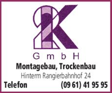 Anzeige 2K GmbH