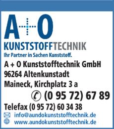 Anzeige A + O Kunststofftechnik GmbH