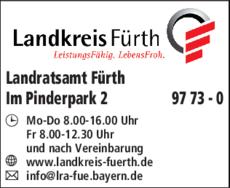 Anzeige Landratsamt Fürth