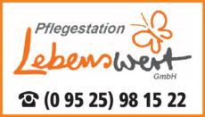 Anzeige Pflegestation Lebenswert GmbH