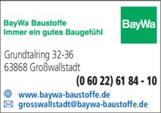 Anzeige Baywa AG
