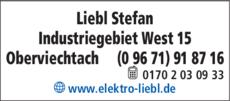 Anzeige Elektro Liebl Stefan