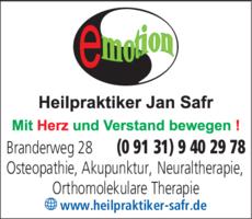 Anzeige Heilpraktiker Safr Jan