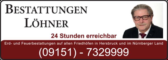 Anzeige Bestattungen Löhner