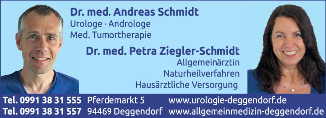 Anzeige Allgemeinmedizin Schmidt Andreas Dr.med.