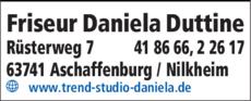 Anzeige Friseur Daniela Duttine