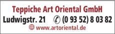 Anzeige Art Oriental GmbH
