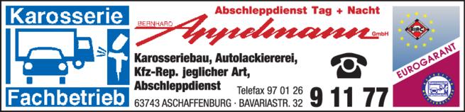 Anzeige Appelmann Bernhard GmbH
