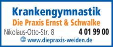 Anzeige Krankengymnastik Die Praxis Ernst & Schwalke