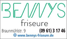 Anzeige Bennys Friseure