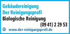 Anzeige Gebäudereinigung Der Reinigungsprofi